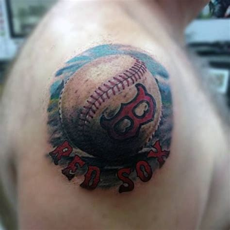 red sox tattoo 60 boston sox tattoos for baseball ink ideas