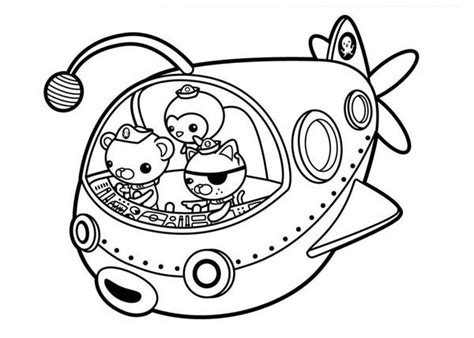 dashi dog coloring page octonauts 20 dessins anim 233 s coloriages 224 imprimer