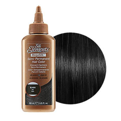 semi permanent hair color for black women silk elements mega silk semi permanent hair color