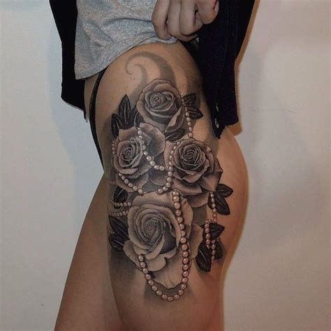 side hip tattoo pain level 67 creative thigh tattoos that will leave you wanting more