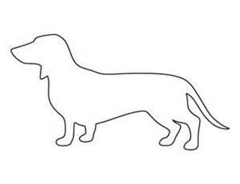 Printable String Templates - free printable string patterns dachshund images