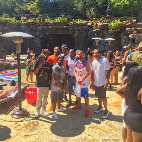 drakes backyard drake threw an insane foam party in his backyard and tons