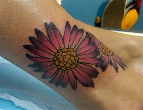 aster tattoo designs 1000 ideas about aster flower tattoos on