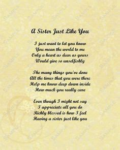 sister poems that make you cry   Google Search   Poems
