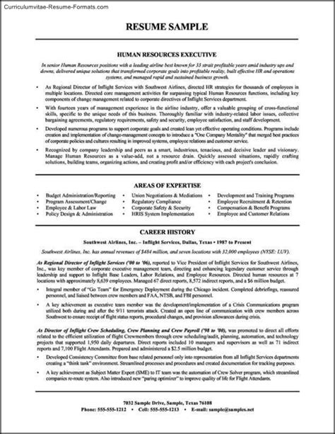 Human Resource Resume Templates by Human Resource Resume Templates Free Sles Exles Format Resume Curruculum Vitae