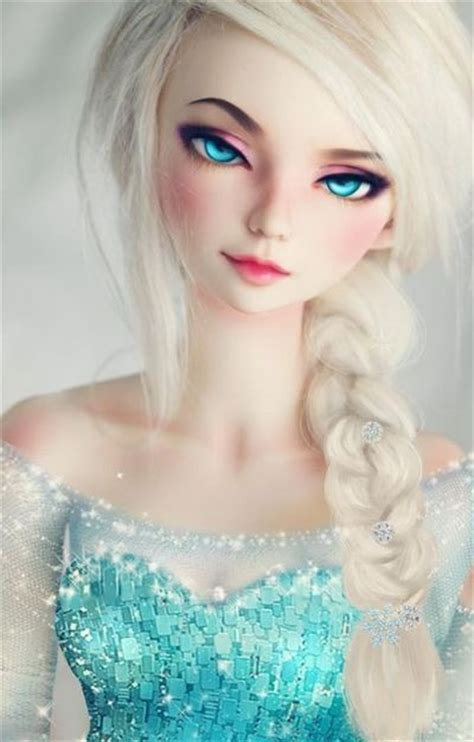jointed doll look jointed doll elsa whoever made this is a genius