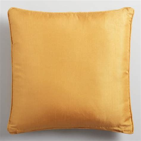 Gray And Gold Throw Pillows Gold And Gray Applique Ikat Throw Pillow World Market