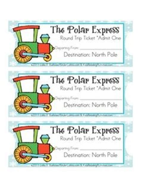 printable tickets to the polar express 1000 images about polar express pajama party on pinterest