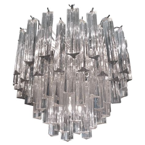 italian glass chandeliers modern italian murano glass chandelier by camer at 1stdibs