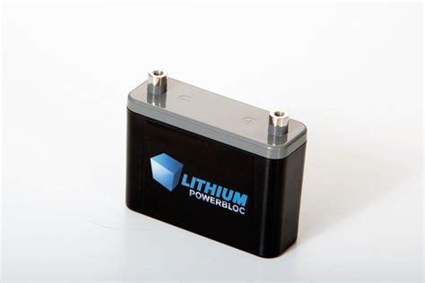 Motorrad Batterie 25ah by Lithium Powerbloc S Lpb 2500 Lifepo4 Batterie 12v 2 5 Ah