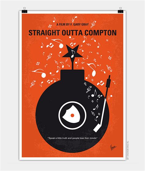 Nwa Volkswagen by No422 My Outta Compton Minimal Poster
