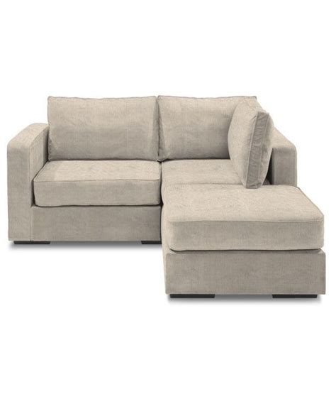 one sofas one seater sofa with left chaise lounge buy at