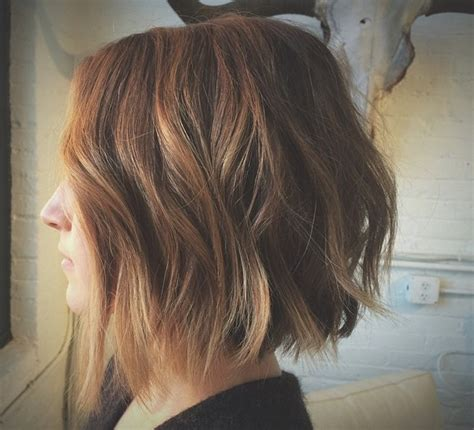 how to cut a choppy hairstyle choppy textured bob hairstyle gallery