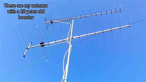analog and digital tv comparison using standard antenna