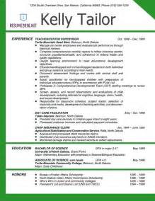 Exle Of Teaching Resume by Resume Exles 2016 For Elementary School