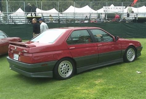 bat exclusive 1994 alfa romeo 164 quadrifoglio bring a