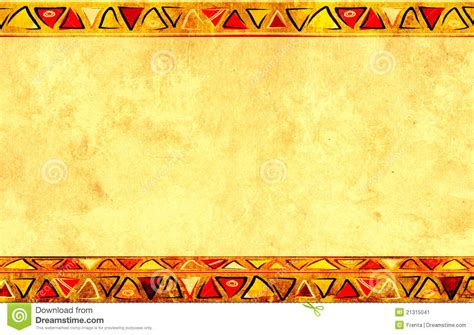 African National Patterns Stock Illustration Illustration Of Africa 21315041 Africa Powerpoint Template