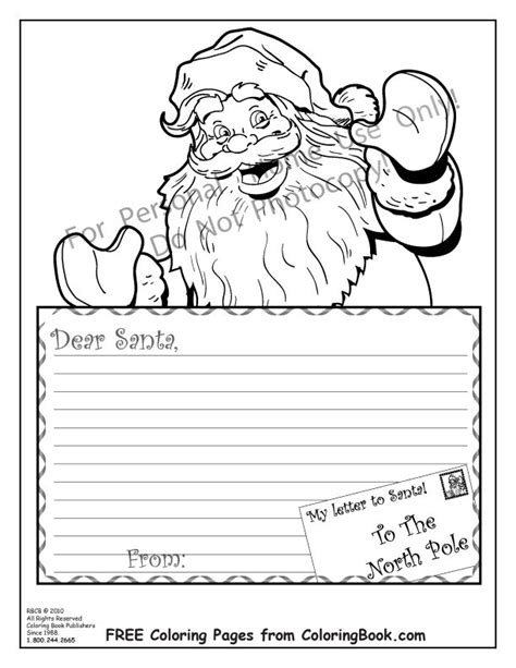 letter to santa template colour in santa letter template coloring svoboda2 com