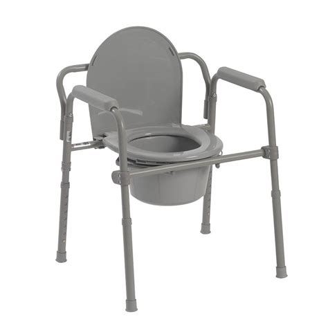 Elderly Potty Chair by Elderly And Handicapped Safety Bath Folding Steel Bedside