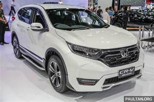 Honda Accessories Crv Bangkok 2017 Honda Cr V With Modulo Accessories