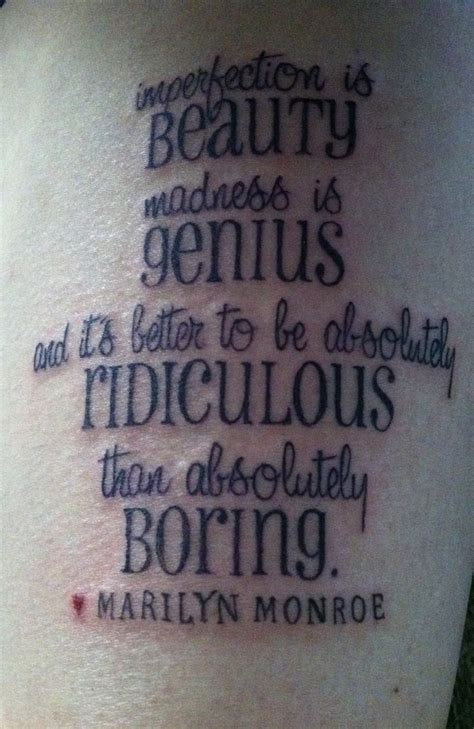 marilyn monroe tattoo quotes marilyn quote stuff