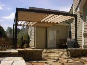 Cheap Outdoor Kitchen Ideas contemporary pergola over stone patio contemporary