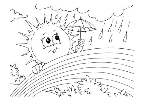 Printable Rainbow Coloring Pages Coloring Me Printable Rainbow Coloring Pages