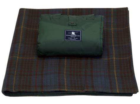 tartan picnic rug waterproof antique buchanan tartan waterproof wool picnic rug