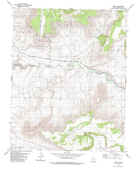 topographical map of utah topographic map ut usgs topo 37113b2