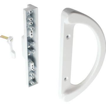 White Sliding Glass Door Handle 3 15 16 Quot Sliding Glass Door Handle White Hd Supply