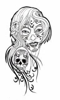 free skull tattoo stencils clipart best