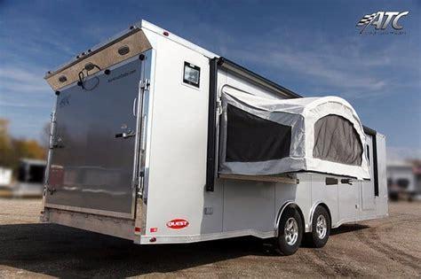 ft atc ch car hauler  bed door mo great dane trailers