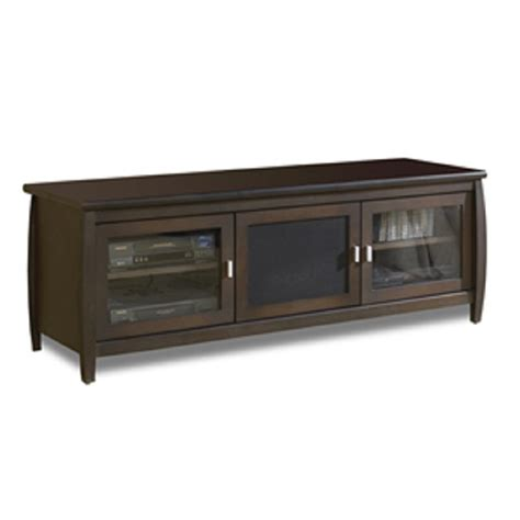 60 Inch Tv Cabinet by Tech Craft Veneto Series Rounded Tv Cabinet For 48 60 Inch