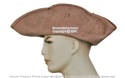 How To Make A Colonial Hat Out Of Paper - sparrow leather pirate tricorne tri corner colonial