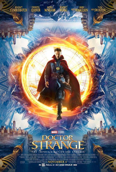 Marvel's 'Doctor Strange' Keeps Time With A Jaeger ... K 11 Poster