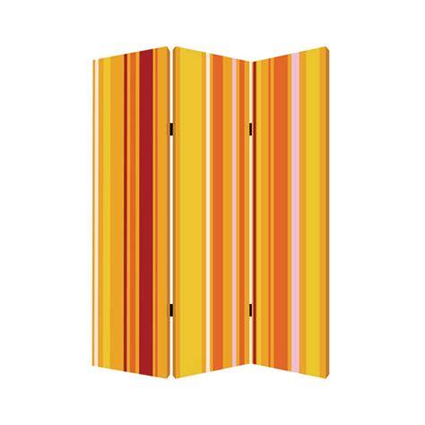 Multi Sg saffron 6 ft multi color 3 panel room divider sg 132