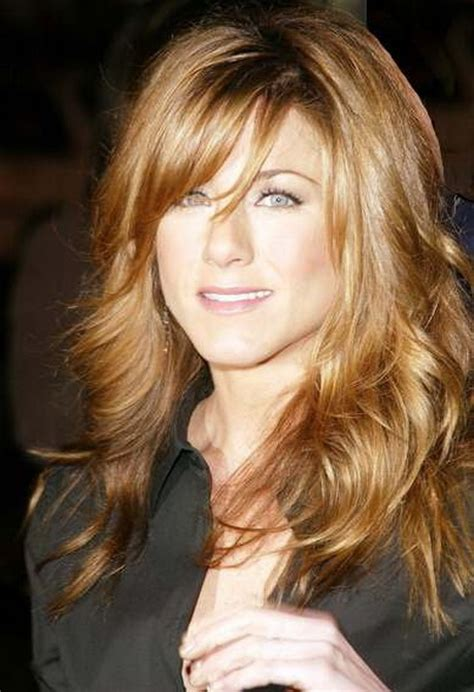 long hairstyles with side bangs long layered haircut with side swept bangs