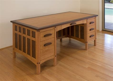 Craftsman Desk by Custom Made Craftsman Desk By Hefner Woodworking Sorkin