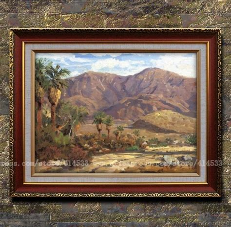 prints of kinkade painting palm springs canvas