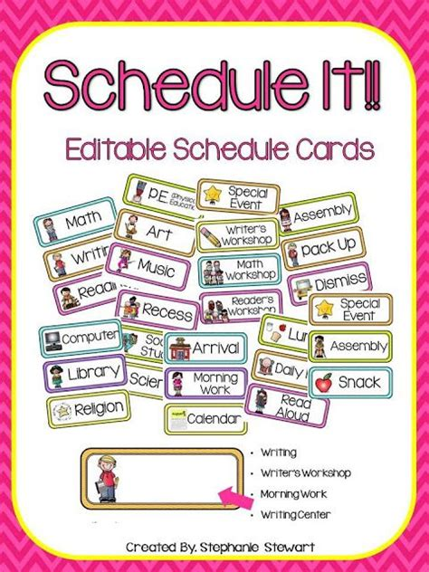 kindergarten timetable template kindergarten timetable template secret santa 1000 images about visual schedule on