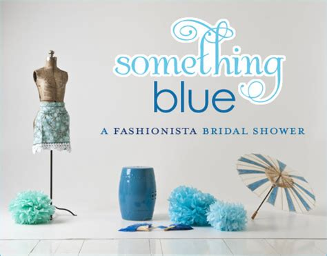 Blue Bridal Shower by Real Quot Something Blue Quot Shower Hostess With The