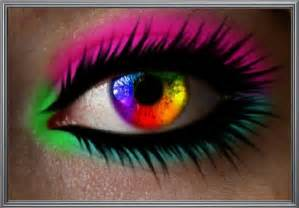colorful eye color wheel eye aesthetically creative faces