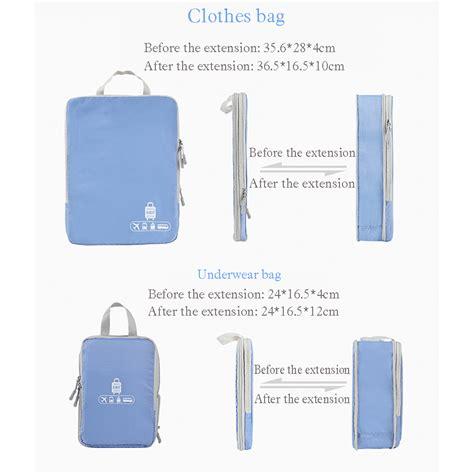 Travel Bag 5 In 1 bubm tas travel bag in bag organizer 5 in 1 t5jtx pink