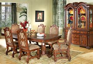 Rooms To Go Dining Room Set Carpathian Cherry 7 Pc Rectangle Dining Room Dining Room Sets Wood