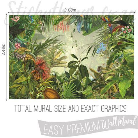 jungle wall mural jungle wall mural into the wallpaper mural