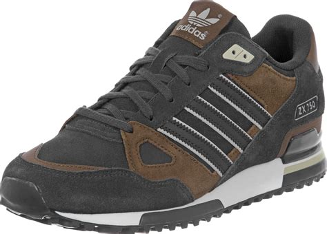 Adidas Zx 75o adidas zx 750 chaussures gris marron