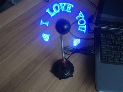 Led Fan electronic usb fan with led clock buy usb fan with led clock electronic clock led fan clock