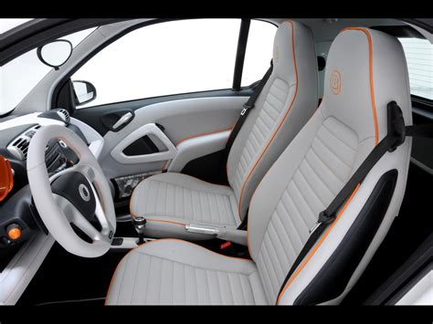 Interior Of Smart Car by 2010 Brabus Smart Fortwo Tailor Made Interior 2