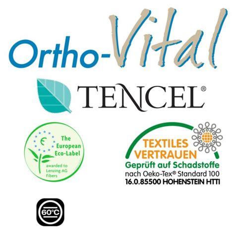 ortho vital matratze ortho vital tencel 174 7 zonen komfortschaum matratze rom