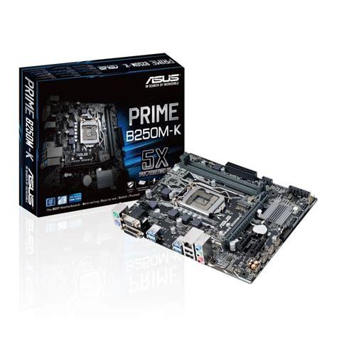 Motherboard Asus B250m A Prime Lga 1151 Asus Intel Prime B250m K Lga 1151 Matx Motherboard Ebuyer